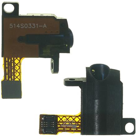 Υποδοχη Ακουστικων AV Για Apple iPod GEN.4 Μαυρη Με Flex OR
