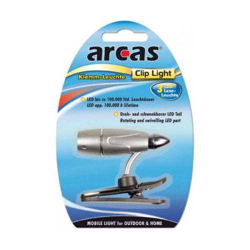 Φακος Arcas 3 Led Για Αναγνωση