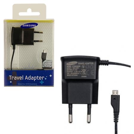 Φορτιστής Ταξιδίου Samsung ETAOU10EBECSTD Micro USB OR