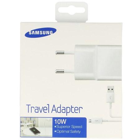 Φορτιστής Ταξιδίου Samsung ETAU90E 2A Micro USB Άσπρoς