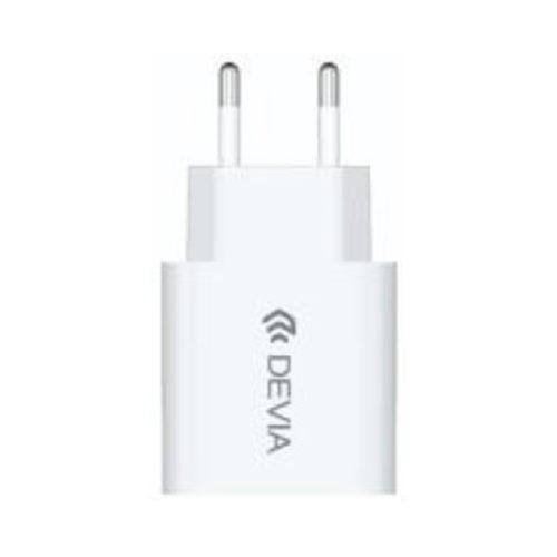 Φορτιστης Σπιτιου Devia Smart Series 2.1A Ασπρος