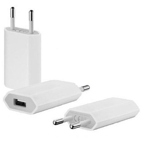Φορτιστης Ταξιδιου Apple mini 5w USB MD813ZM OR Χωρις Καλωδιο