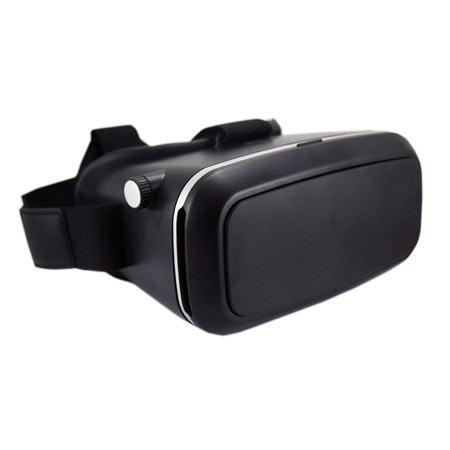 3D VR Glass Black
