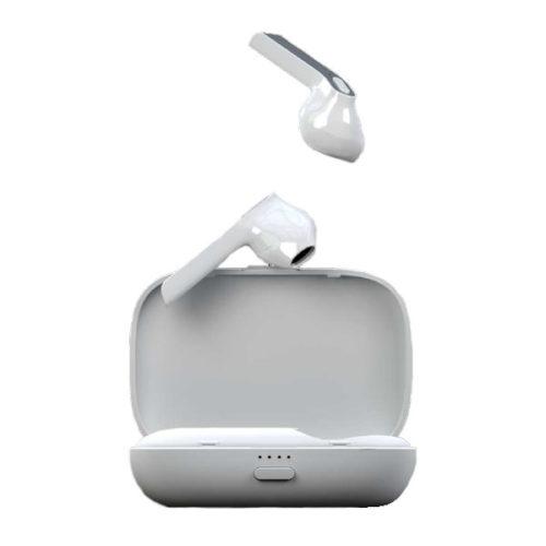 Bluetooth Earbud Musthavz True Ασπρο