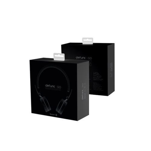 Bluetooth Headphone Defunc Go Μαυρο