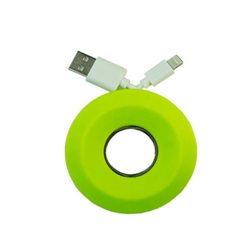 Cable Winder GNG Για Handsfree & Για Καλωδια Φορτισης Πρασινο