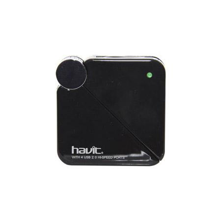 HUB H80 USB Port Extender 4 Θυρες Ταχυτητα 2.0 Μαυρο