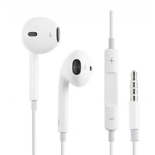 Hands Free Stereo MNHF2ZM/A Για Apple iPhone 5/6 Άσπρο OR