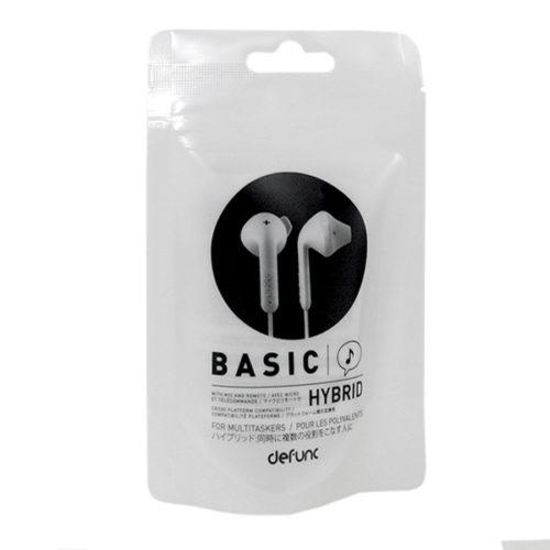 Hands free Defunc Basic Hybrid 3.5mm Άσπρo