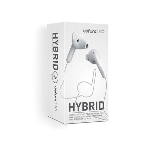 Hands free Defunc GO Hybrid 3.5mm Άσπρo