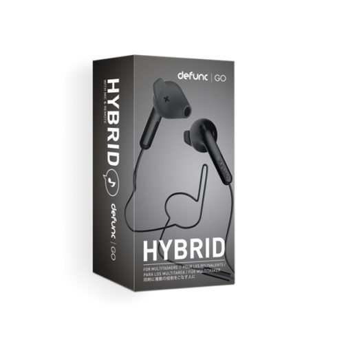Hands free Defunc GO Hybrid 3.5mm Μαυρο