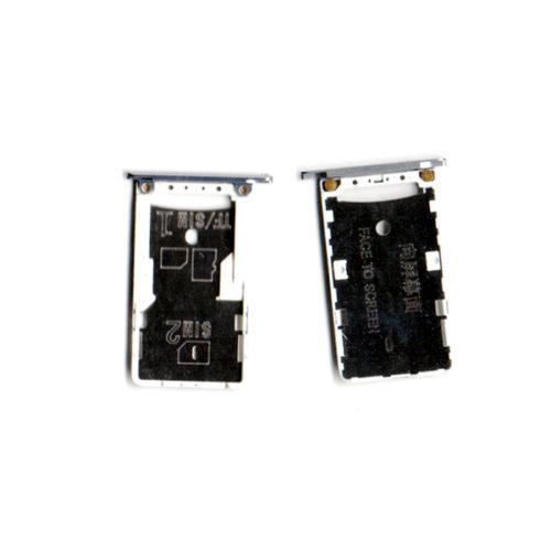 Sim Card Holder Για Xiaomi Redmi Note 3 Ασημι