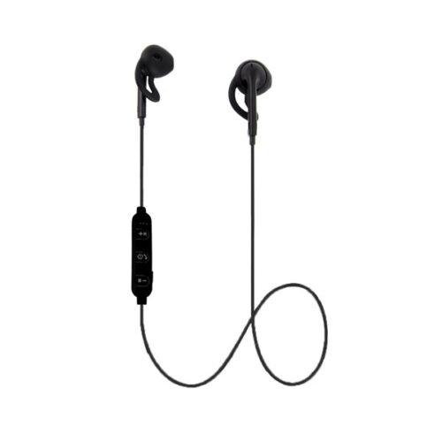 Ακουστικό Bluetooth V4.2 με μικρόφωνο μαύρο