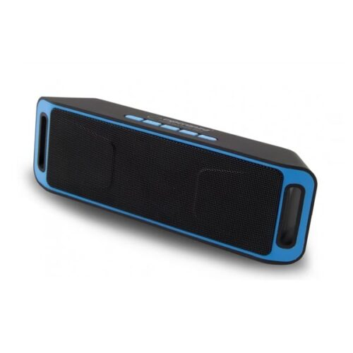 Ηχείο Bluetooth 6W Hands-Free & w/FM Radio Μαύρο/Μπλε