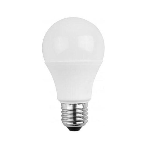 Λάμπα LED 10W E27 4000K με φωτοκύτταρο  Well LEDLNLS-A6010E27-WL