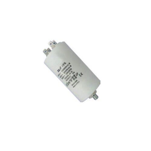 Πυκνωτής Λειτουργίας Well 100μF με ακροδέκτη 4pins 400V MOTCAP-100UF-PN-WL