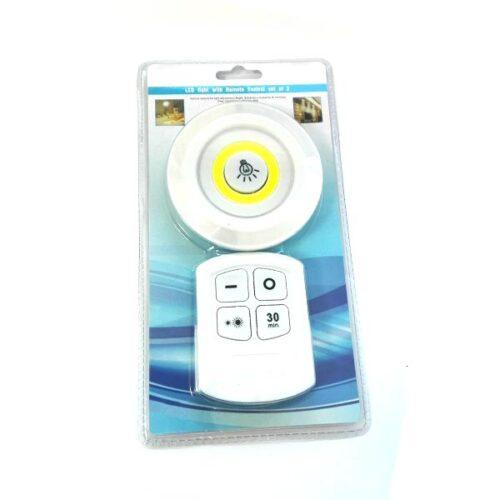Φωτιστικό στρογγυλό  με τηλεχειρισμό LED
