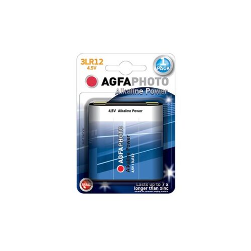 AGFA 4.5V 3LR12 1τεμ Αλκαλική Μπαταρία