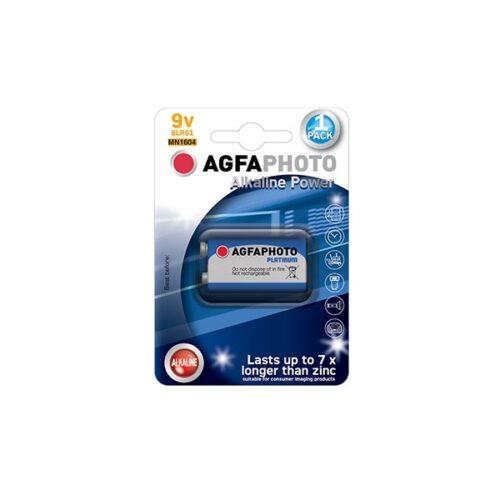 AGFA 9V 6LR61 1τεμ Αλκαλική Μπαταρία