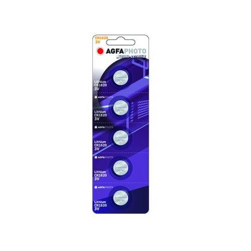 AGFA CR1620 5τεμ Λιθίου Μπαταρία