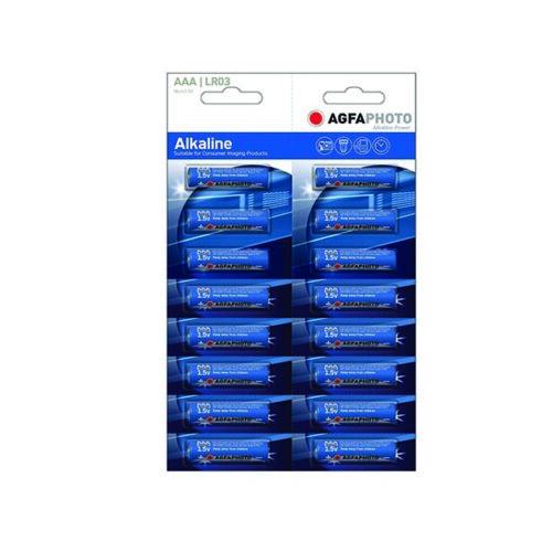 AGFA LR03 AAA 16τεμ Αλκαλική Μπαταρία Tear-Off