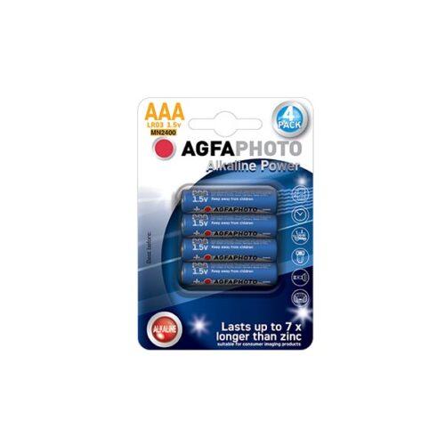 AGFA LR03 AAA 4τεμ Αλκαλική Μπαταρία