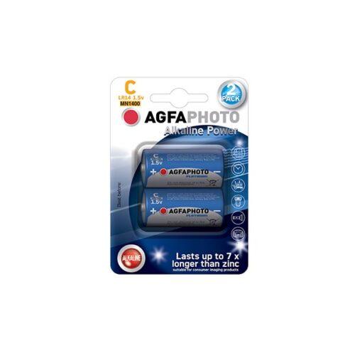 AGFA LR14 C 2τεμ Αλκαλική Μπαταρία