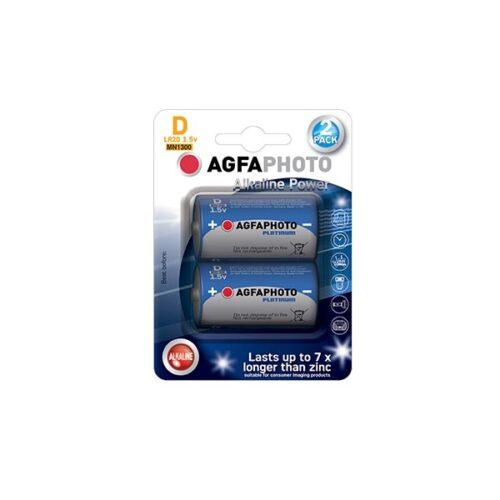 AGFA LR20 D 2τεμ Αλκαλική Μπαταρία
