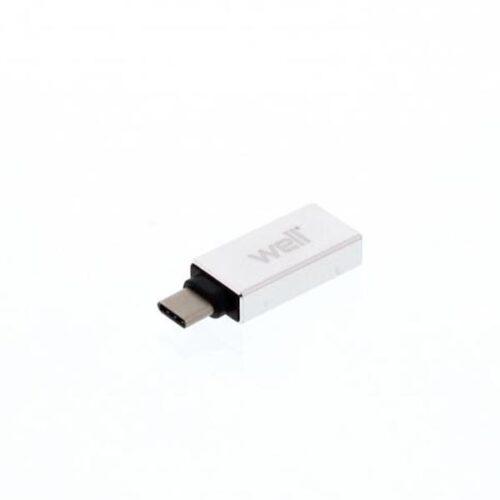 Adaptor USB-C σε USB3.0 OTG Well ADAPT-USBCM-USB3.0F-WL