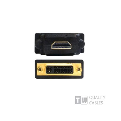 Hdmi Male / Dvi 24+5 Female Adaptor