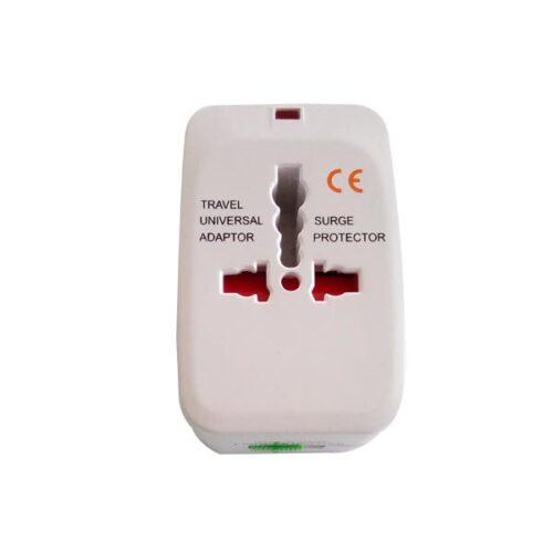 Universal travel adapter με surge protector