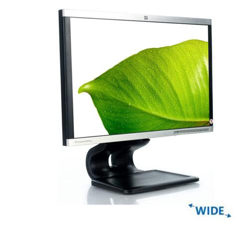 """Used Monitor LA1905WG/TFT/HP/19""""/1440x900/wide/Silver/Black/VGA & DVI-D & DP & USB HUB"""