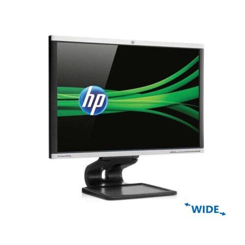 """Used Monitor LA2405x LED/HP/24""""/1920x1200/wide/Silver/Black/D-SUB & DVI-D & DisplayPort & USB HUB"""