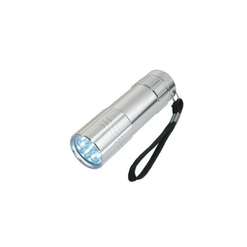 Well Φακός 9 LED Compact ασημί TORCH-COMPACTGY-WL
