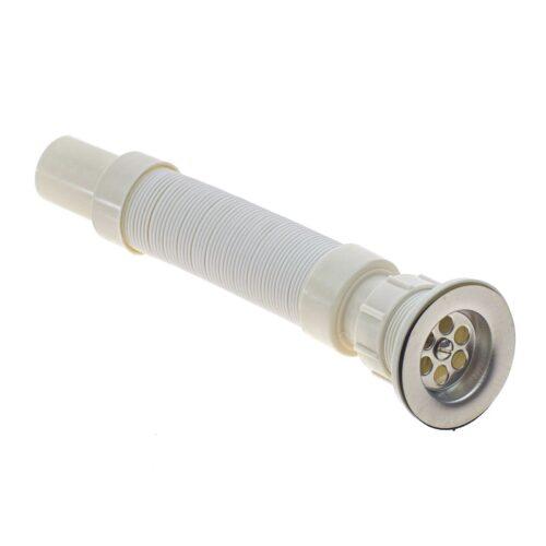 Εύκαμπτο σιφώνι νεροχύτη πλαστικό σπιράλ.Χαρακτηριστικά:Διάμετρος: Φ35mmΜήκος: 350 - 800mmDOA 14 Ημερών