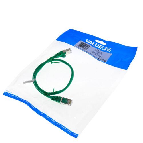 Καλώδιο Δικτύου ValueLine 0.50mΧαρακτηριστικά:Network Cable FTP CAT 5eΜήκος Καλωδίου: 0.50mRJ45 (8/8) Male to RJ45 (8/8) MaleDOA 14 Ημερών