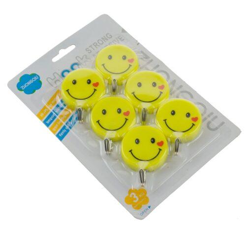 Πλαστικά κρεμαστράκια με ισχυρή ταινία διπλής όψης για εύκολη και γρήγορη τοποθέτηση.DOA 14 ημερών