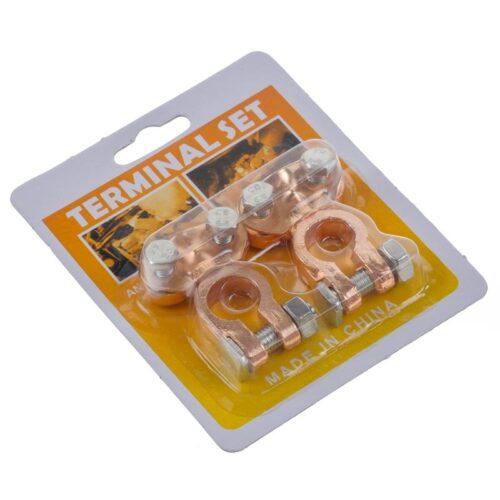 Πόλοι μπαταρίας χάλκινοι τερματικό για σύνδεση συσσωρευτών.DOA 14 Ημερών