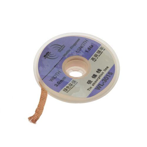 Χαλκός αποκόλλησης καλάι πάχους 3.0mm και μήκος 1.5mΤο προϊόν πωλείται ανά τεμάχιοDOA 14 Ημερών