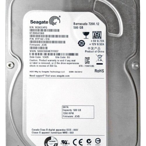 Seagate Barracuda 7200.12 SATA 6Gb/s 500GB ST3500413AS