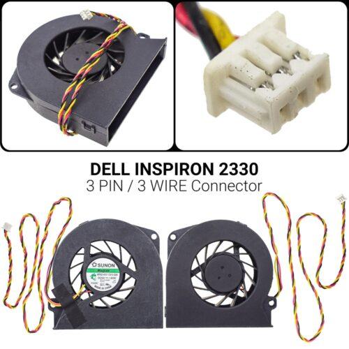 3 PIN3 WIREΑνεμιστήρας Dell Inspiron 2330 2330 Optiplex 9010 9020 FB7H 06X58Y 6X58YP/N: MF60140V1-C010-G99