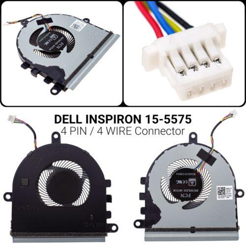 4 PIN4 WIREΑνεμιστήρας Dell Inspiron 15-557515-5575 15-5570 P75FP/N: CN-07MCD0