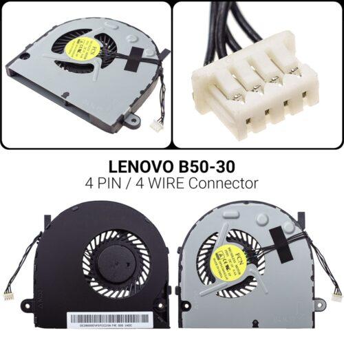 4 PIN4 WIREΑνεμιστήρας Lenovo B50-30B40 B40-30 B40-45 B40-70 B40-80B50 B50-30 B50-45 B50-70 B50-80P/N: DC28000ENF0FCC2