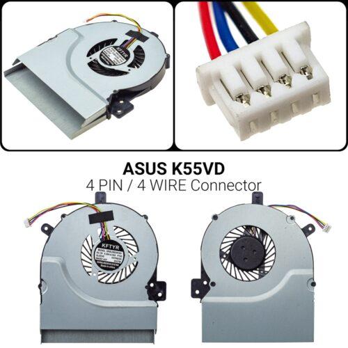 4 PIN4 WIREASUS K55VDK55V K55VD A55A A55V A55VD K55VM K55 55A K55D K55DR K55X