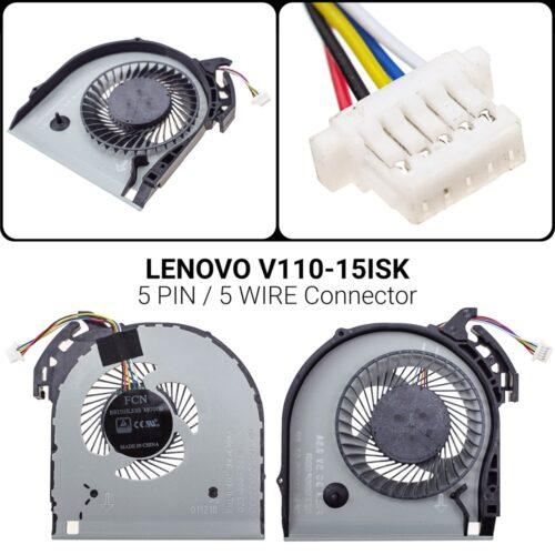 5 PIN5 WIREΑνεμιστήρας Lenovo Ideapad V110-15IAP 5  / V110-15ISK 5DFS531005PL0T