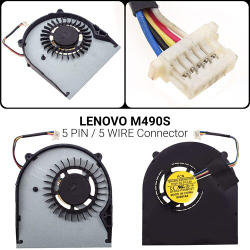 5 PIN5 WIREΑνεμιστήρας Lenovo M490S B490S