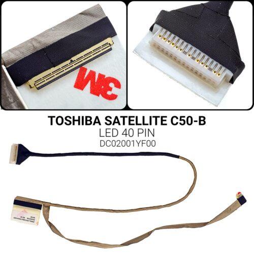 LED 40 pinTOSHIBA SATELLITE C50-BDC02001YF00