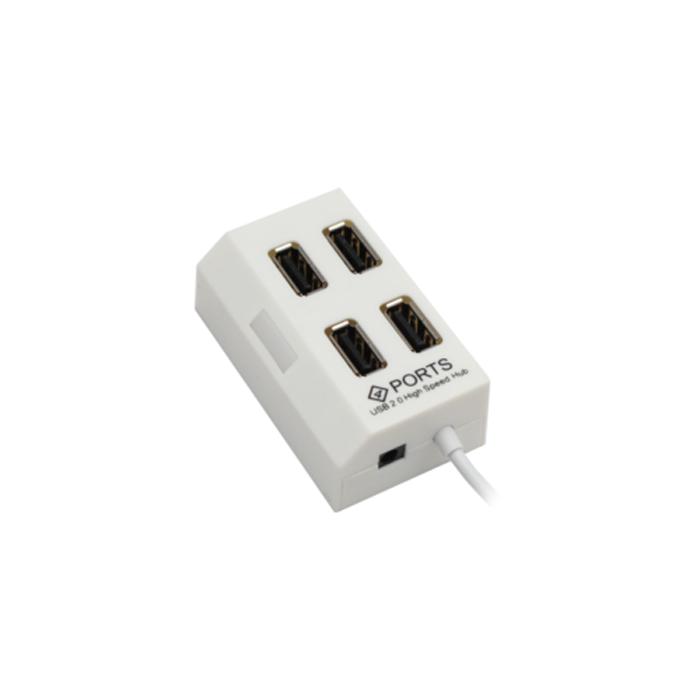 USB hub No Brand, USB 2.0, 4 θύρες, μαύρο - 12055