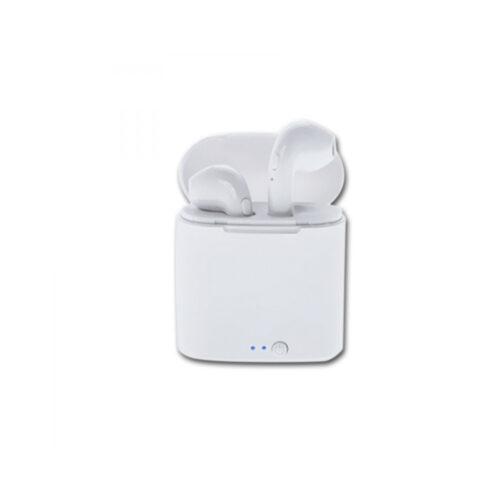 Ακουστικό In-ear Bluetooth earphones w/Docking Station Λευκό Vakoss SK-830BW