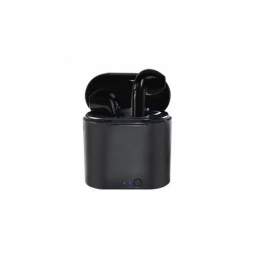Ακουστικό In-ear Bluetooth earphones w/Docking Station Μαύρο Vakoss SK-830BK